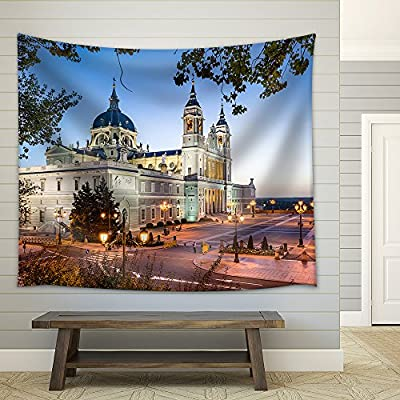 Made to Last, Alluring Artistry, Madrid Spain at La Almudena Cathedral and The Royal Palace Fabric Wall