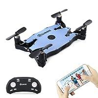 EACHINE E57 Drone con Camara 2.0MP 720p HD Mini Drone con Cámara Plegable FPV App Control Remoto WiFi