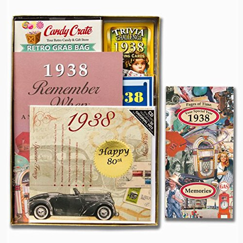 1966 Time Capsule 50th Birthday Gift For Men Or Women: 80th Birthday Gifts For Men