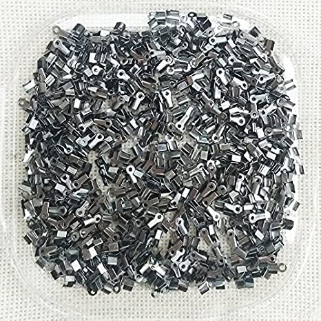 200pcs 3mm Leather Cord End Cap Bead Stopper Charm Findings
