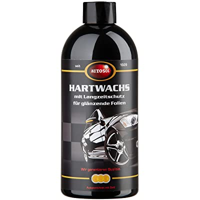 Autosol 11 000940 Hard Wax with Long-Term Protection for High-Gloss Foil 500 ml: Automotive