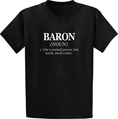 Threads of Doubt Baron Definition: Like a Normal Person, But Much, Much Cooler