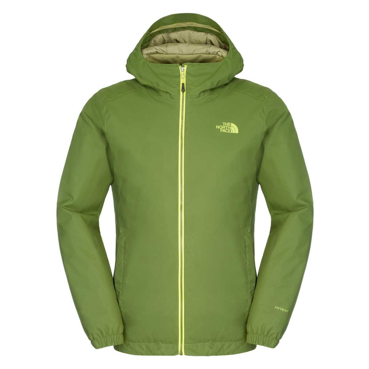 The North Face Hardshelljacke Quest Insulated, Scallion Green, Extra-Small: Amazon.es: Deportes y aire libre