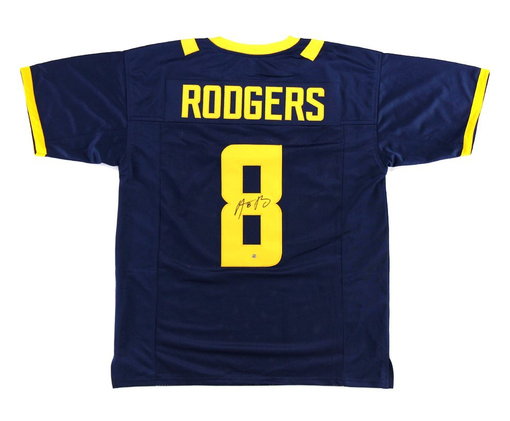 new styles 5eb82 8afa7 authentic aaron rodgers college jersey