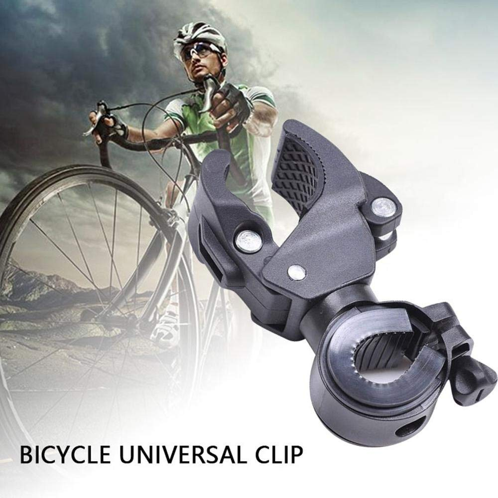 Soporte para Linterna Clip para Bicicleta Soporte para luz de Bicicleta Soporte para linternas Soporte para Manillar de Bicicleta
