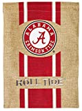 NCAA University of Alabama Burlap Garden Flag