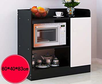 Shelf Estanterías de Cocina estanterías en Blanco y Negro de ...
