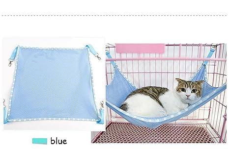 PLQ Conejo de Rata Mascota Colorido/Ferret Chinchilla/Gato Hamaca de Gato Animal Cama