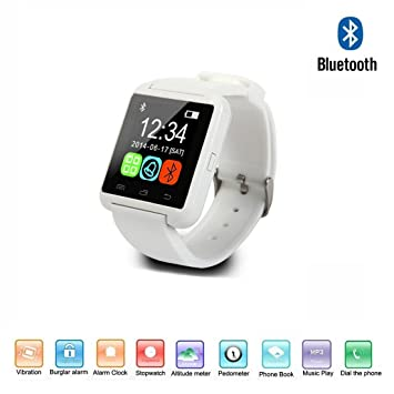 Navline U8 Smartwatch Montre connectée (écran 1,44MB Bluetooth USB Compatible avec Android iOS