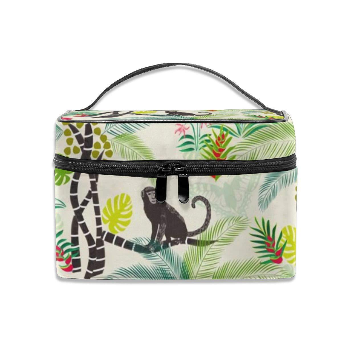 8ba495a2314c Amazon.com : Portable Travel Toiletry Bag Organizer, Tropical ...