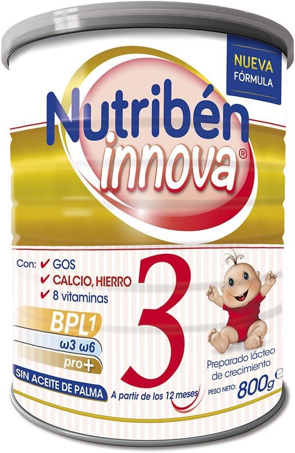 Nutribén 8430094308249 Innova 3 Leche - 800 gr