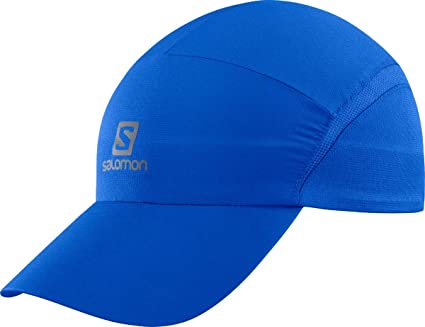 Salomon XA Cap Gorra de Malla Impermeable, Unisex Adulto, Azul (Nautical Blue)