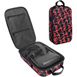Esimen Fashion Travel Case for Oculus Quest VR Gaming Headset and Controllers Accessories Carrying Bag