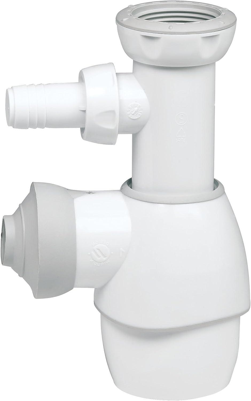 Wirquin 30721103 D60 Desag/üe para fregadero 2 bandejas