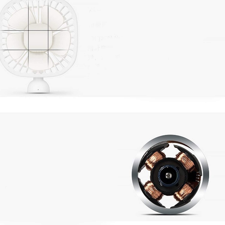 XIAOF-FEN Mini Portable Square Fan USB Handheld Detachable Base Electric Fan Outdoor Cooling Fans USB Fan