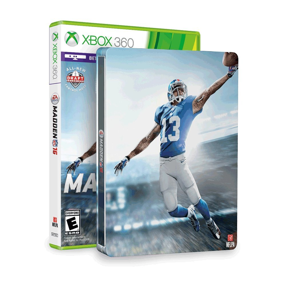Madden NFL 16 & SteelBook (Amazon Exclusive) - Xbox 360