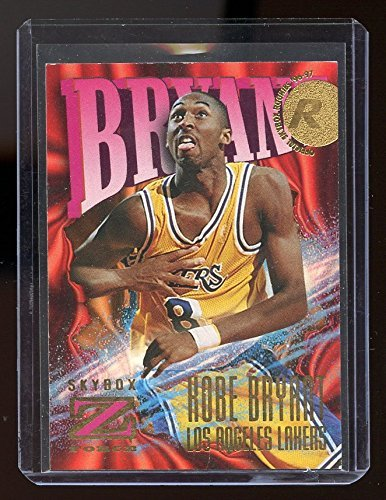 97 Rookie Card (1996-97 Z-Force #142 Kobe Bryant Lakers Rookie Card- Near Mint Condition Ships in a New Holder)