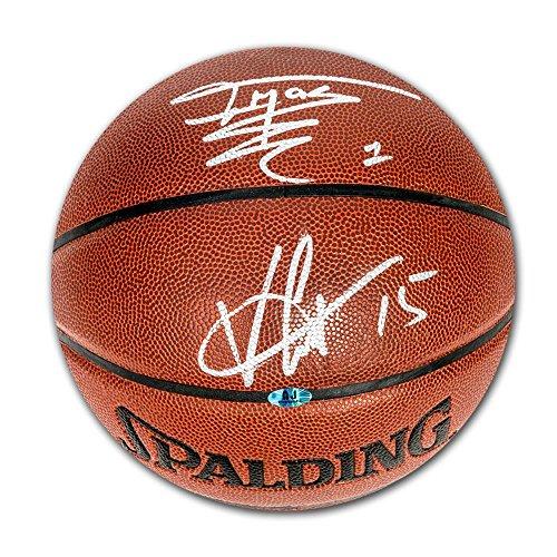 Vince Basketball Carter (Vince Carter & Tracy McGrady Toronto Raptors Dual Signed Spalding NBA Basketball - Autographed Basketballs)