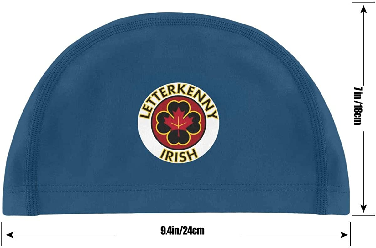 Monerla Ningpu Letterkenny-Irish Swimming Cap Bathing Caps for Men Women