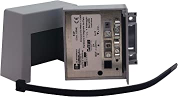 P2P – partidor de señal TV con Abrazadera de Poste para Antena Digital terrestre – 1 Entrada – 2 Salidas (1 con CC), Distribuidor de Poste para Antena ...