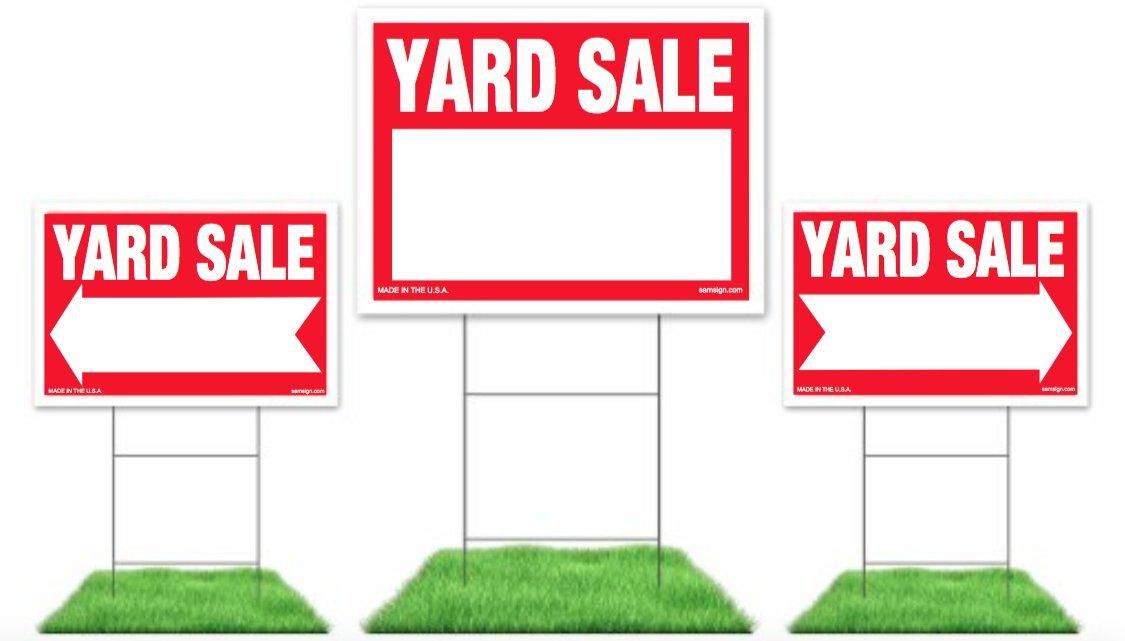 Amazon.com : Yard Sale Sign Kit, (1) 18\