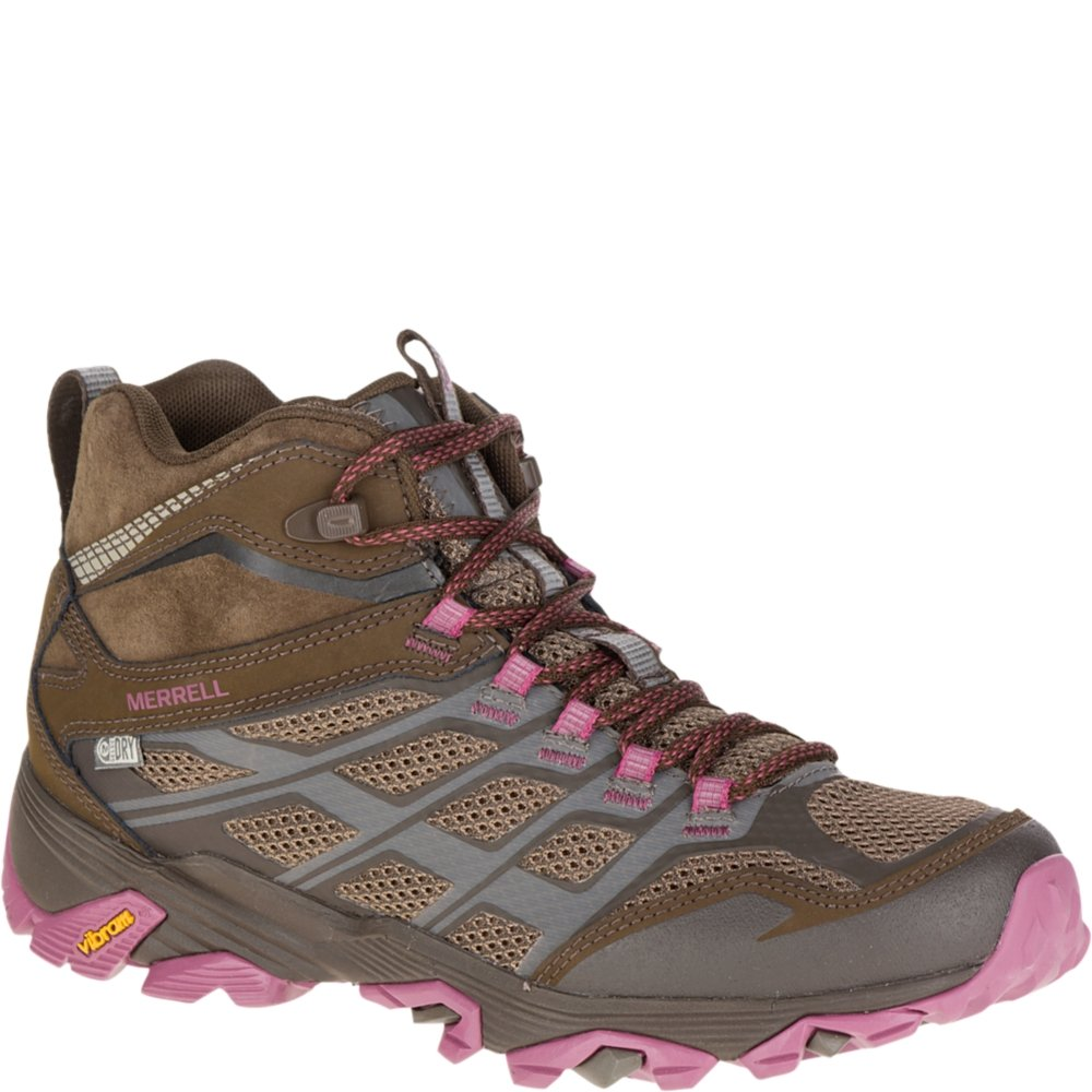 boy browse latest collections best cheap Merrell Women's Moab FST Mid Waterproof-W Hiking Boot