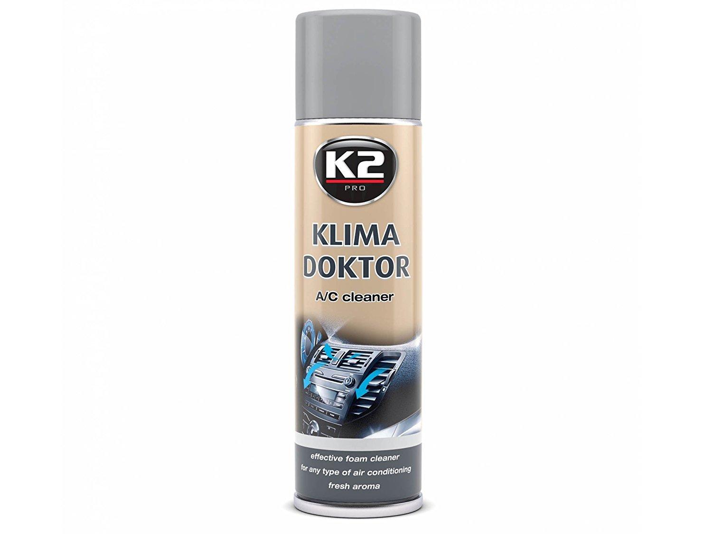 K2 climá tica Doctor, a/c limpiador, Desinfecció n Espuma, aire acondicionado limpiador, desinfectante, Lemon Aroma 500 ml Desinfección Espuma Lemon Aroma 500ml