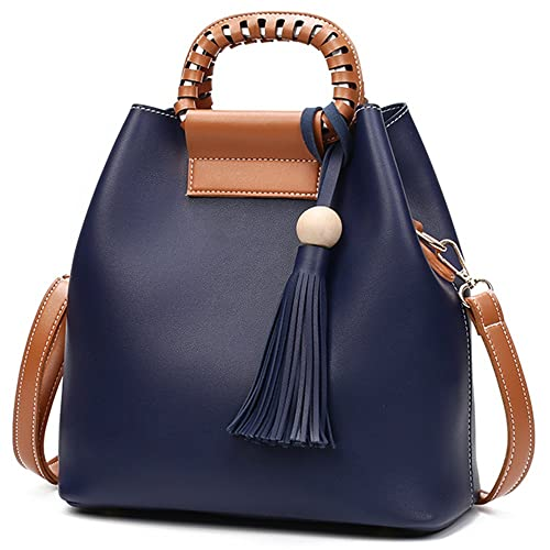 BAOFASHION Women s PU Retro Tassel Pendant Handbag Ladies Shoulder Bag   Handbags  Amazon.com 286005eac