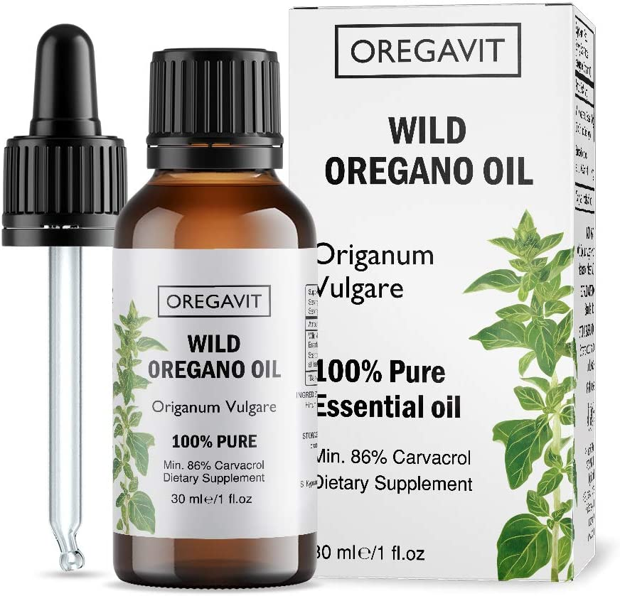 100% Pure Wild Greek Oregano Oil Food Grade Quality. Certified. (1 FL.OZ/30ML)