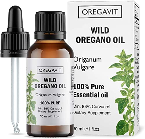 100 Pure Wild Greek Oregano Oil Food Grade Quality. Certified. 1 FL.OZ 30ML