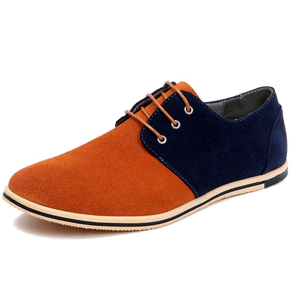 Zapatos Casuales De Los Hombres Zapatos De Vestir De Los Hombres Zapatos De Conducció N De Gamuza Có Modo Mocasí N con Cordones