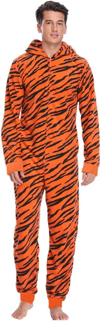 Pijamas de Tigre de Lana de Talla Grande para Mujer, Mono con ...