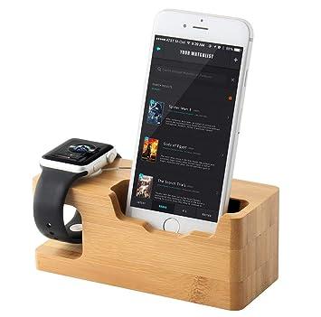 Show Wish Support pour Apple Watch, iputy 3 Ports USB 3.0 Station de  Recharge Dock