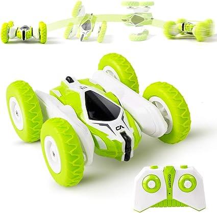 Amazon.com: Sinovan Mini RC Cars Stunt Car Toy, 4WD 2.4 Ghz ...