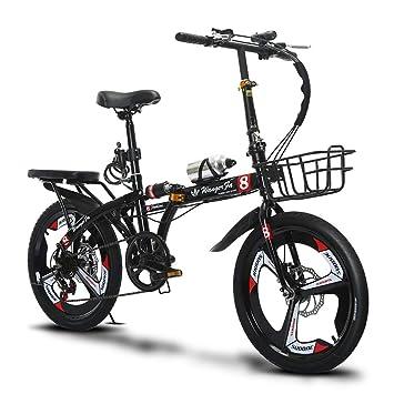Brothers HouseYX Bicicleta Plegable para Adultos,Hombres y ...