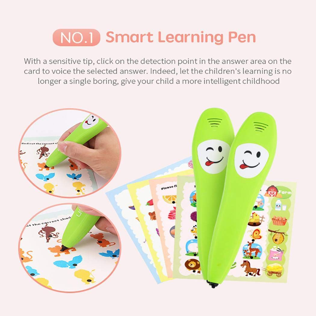 Kindsells Kids Common Sense Cognitive Intelligence Learning Pen Children Educational Toy Electronic Systems by Kindsells