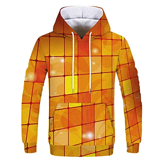 Internet-Traje de suéter de Pareja: otoño e Invierno, Camiseta Impresa de Manga Larga con Capucha, Impresa en 3D, Camiseta de Manga Larga S-3XL: Amazon.es: ...