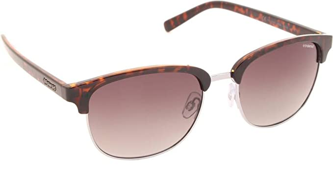 f34775fe328 Image Unavailable. Image not available for. Colour  Polaroid Polarized  Browline Clubmaster Men s Sunglasses ...