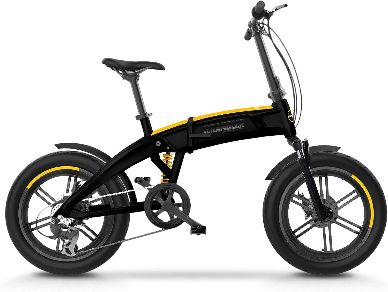 Scrambler Ducati Bike Scr E Sport E Bike With Fat Wheels Full Suspension Unisex Adults Black And Yellow One Size Sport Freizeit