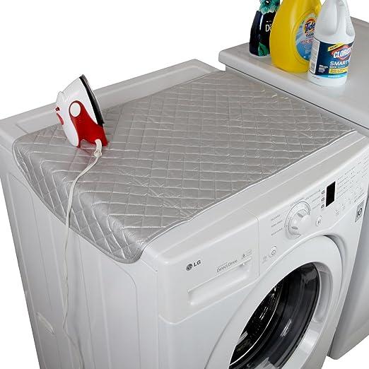 Amazon.com: Home-x pizarrón magnética de planchado mat. Gris ...