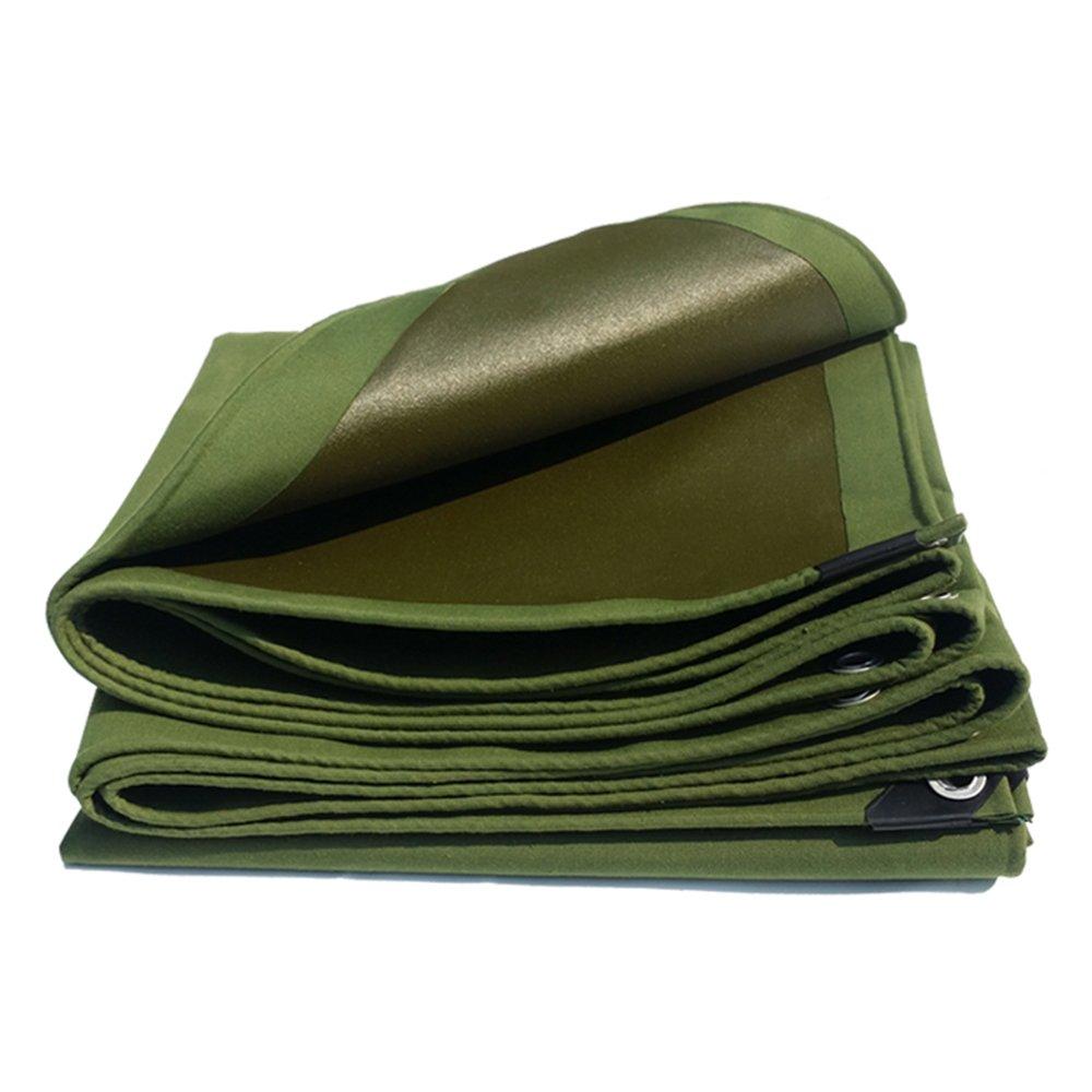 テントの防水シート ヘビーデューティターポリン、高密度編みポリエチレン、ダブルラミネート100%防水/UV保護0.7MM 650g/M² それは広く使用されています (色 : アーミーグリーン, サイズ さいず : 5 x 8m) B07D21YXVP 5x 8m|アーミーグリーン アーミーグリーン 5x 8m