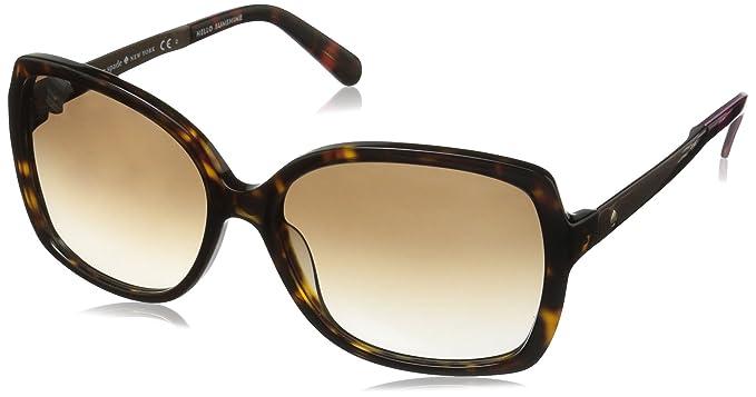 8e5d8e3e18064 Kate Spade Women s Darilynn Square Sunglasses Havana Warm Brown Gradient