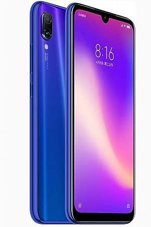 Xiaomi Redmi Note 7 Pro Dual SIM 128 GB Neptune blue 6 GB RAM (Azul)