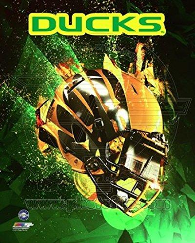 University of Oregon Ducks Helmet Sports Photo (8 x 10) (10 Photo Ducks)