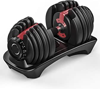 Arteesol Mancuernas (2-24 kg / 5-52.5 lbs) Mancuerna Ajustable con Pesas Dial para Hombres y Mujeres (Single): Amazon.es: Deportes y aire libre