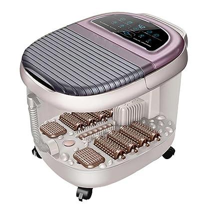 Calentador de pies completamente automático Bañera de hidromasaje Eléctrico Masaje Lavado Pie Hogar Baño de pies