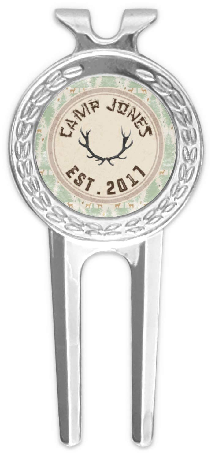 RNK Shops DeerゴルフDivot Tool &ボールマーカー(Personalized)   B076ZS8NFZ