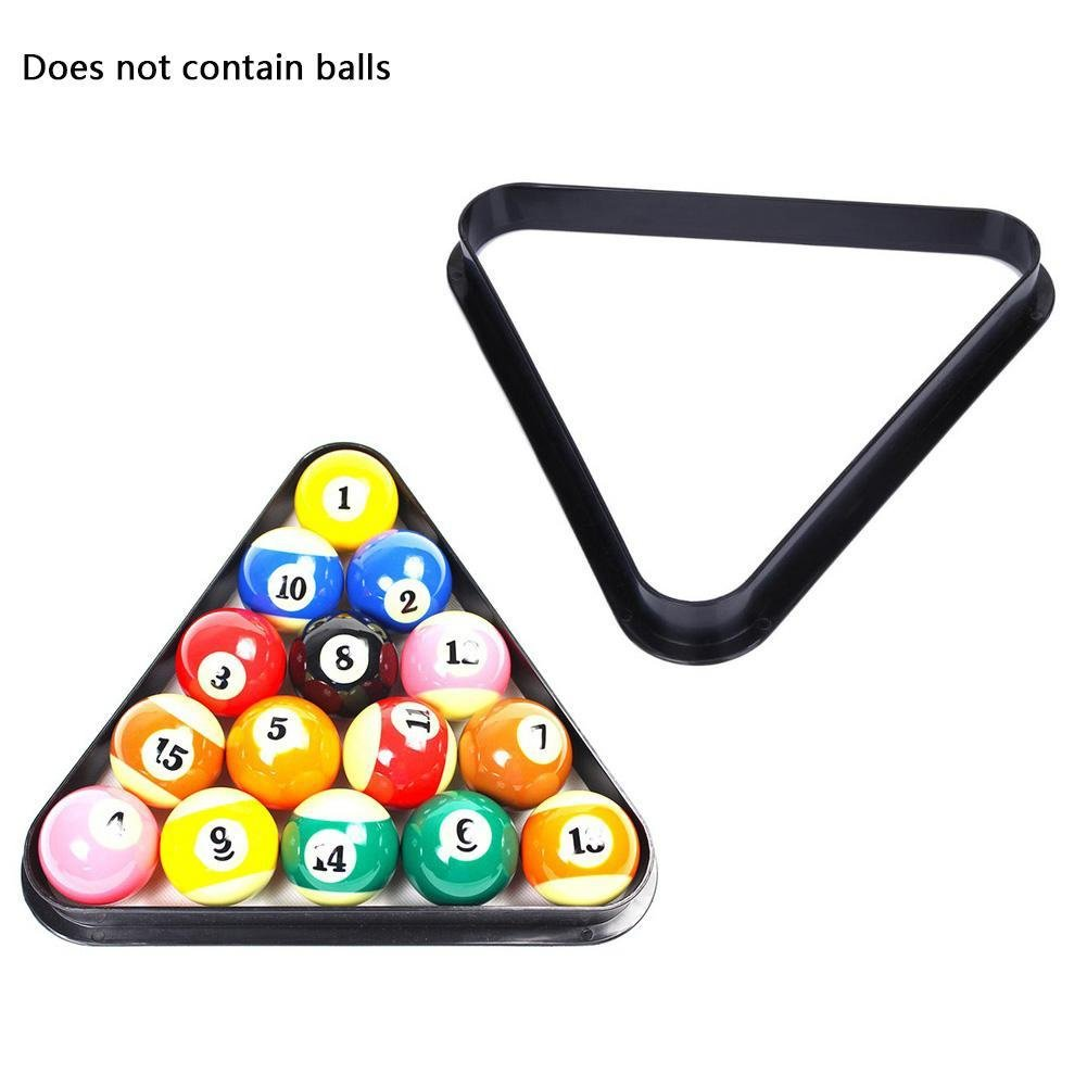 CloudWhisper Black Heavy Duty Ball Triangle Rack For Pool Table - How heavy is a pool table