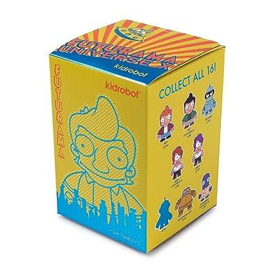 """kidrobot- Futurama Universe X Random Mini Figure Blind Box 2.5"""": Toys & Games"""