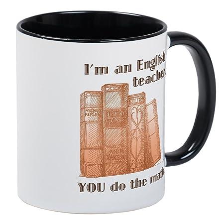 Cafepress Englisch Lehrermathematische Einzigartige Kaffee